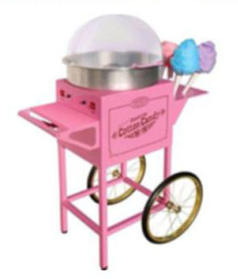 cotton candy concession cart