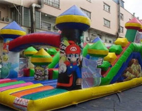 Super Mario Bros Obstacle course Play Area
