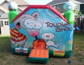 enclosed bouncy castle