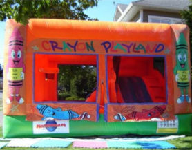 inflatable bounce castle enclosure