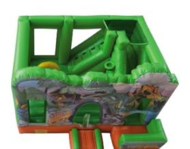 inflatable play area with dinosaur theme