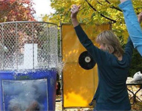 dunk tank at event