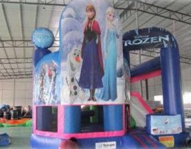 Inflatable Frozen Theme Bouncy Play Area