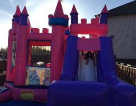 Princess palace with slide