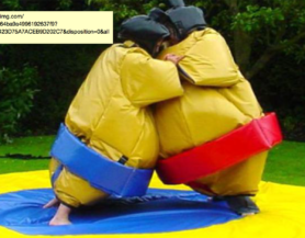 inflatable sumo wrestler suits