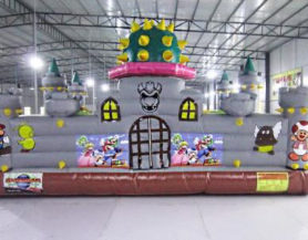 Super Mario Bros inflatable play area